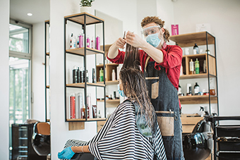 Photo of a small business - hair salon